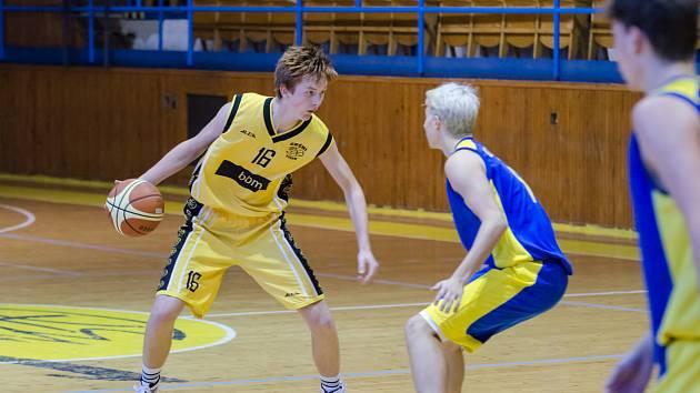 Písecký basketbalista Mikoláš Houser.