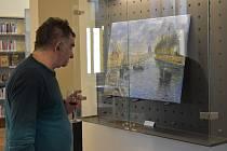 Dvojvernisáž výstav Ve víru barev Martiny Studené a impresionistických děl Antonia Lopoma.