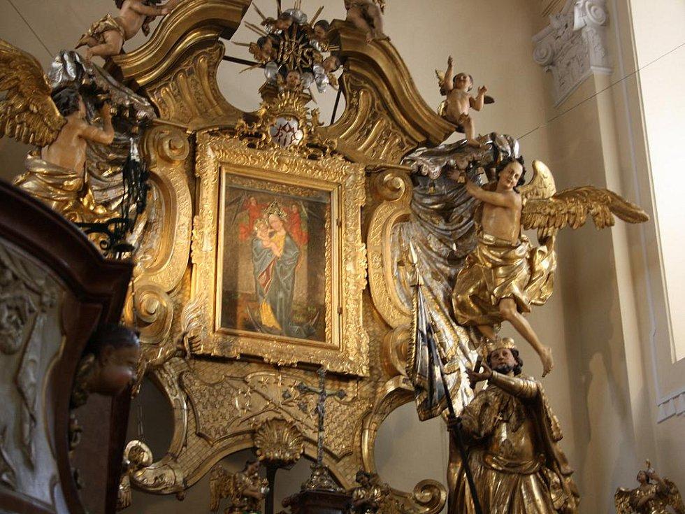 Kostel Panny Marie v Sepekově.