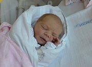 Vendula Salivarová zBlatné. Prvorozená dcera Veroniky Černé a Václava Salivara se narodila 28. 3. 2019 ve 21.53 hodin. Vážila 2800 g a měřila 48 cm. Foto: Jana Krupauerová
