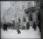 Příjezd německých okupantů do Písku.