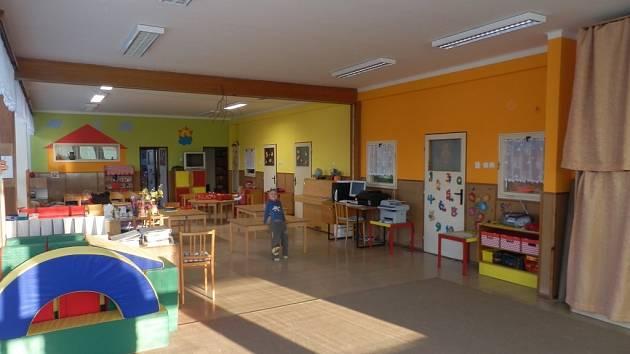 Mateřská škola v Mirovicích.