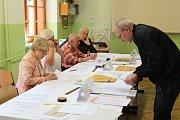 Volby v Písku.