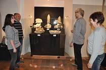 Výstava Čarovný svět krystalů v Prácheňském muzeu.