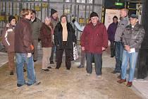 Den otevřených dveří v Divadle Fráni Šrámka v Písku.