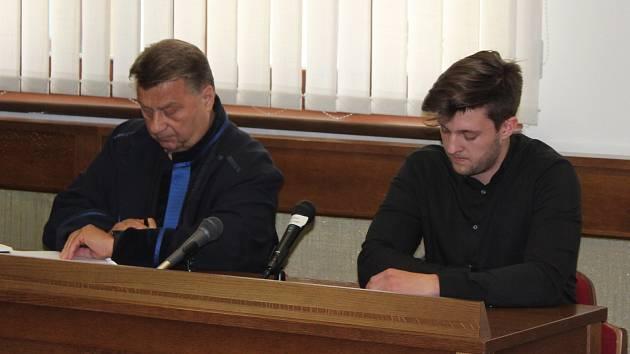 Obžalovaný Christoph Steinert (vpravo).