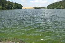Rybník Tovaryš v úterý 16. července.