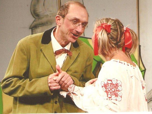 Divadelní představení Prácheňské scény Písek.