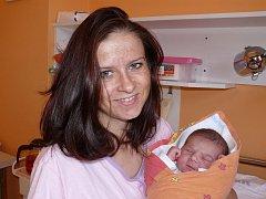 Alžběta Altschmiedová,  Písek,  26. 9.  2011 ve  23.29 hodin,  3750  g.