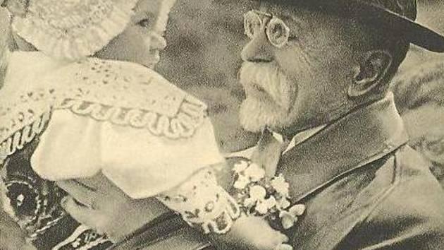 Čestným občanem Písku je také prezident Masaryk.