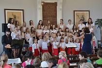 Koncert dětských sborů v Protivíně.