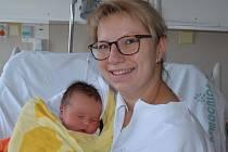 Jakub Svatoš zPísku. Syn Kláry a Ondřeje Svatošových se narodil 4. 1. 2019 v17.01 hodin. Při narození vážil 4350 g a měřil 53 cm. Doma brášku čekala Terezka (2,5).