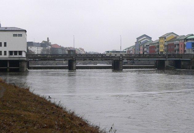 Nový most v Písku- ilustrační fotografie.