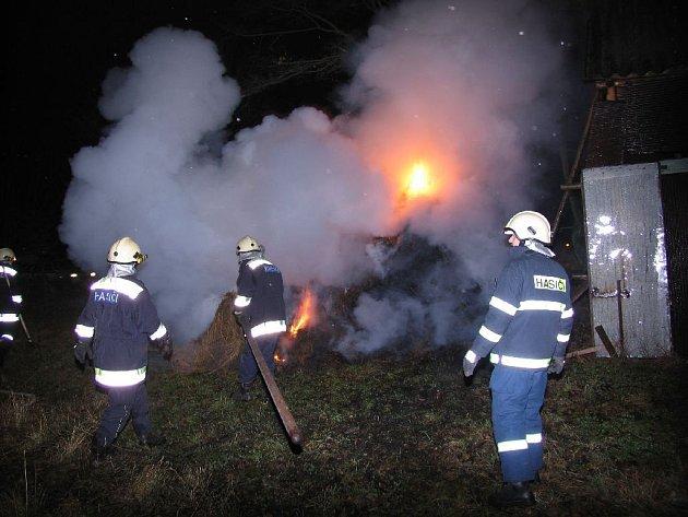 Zásah píseckých hasičů
