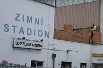 Rekonstrukce Sportovně komunitního centra na zimním stadionu v Písku.