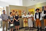 Výstava výtvarnice Mirky Kalinové ve Sladovně.
