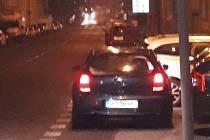 Auto, jehož řidiče policie hledá.