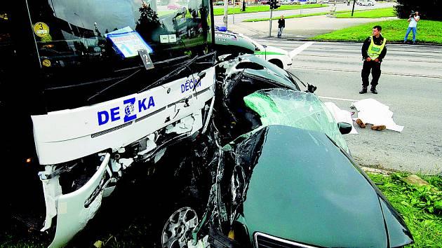 Nehoda v Českých Budějovicích
