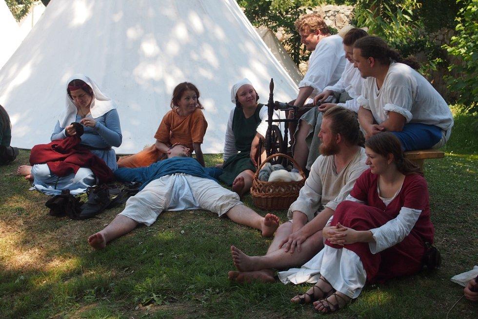 Oslavy 700 let obce Kestřany.