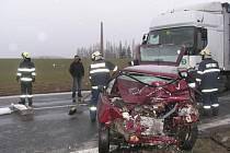 Nehoda u Záhoří.