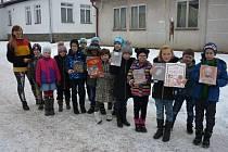 Oddělení městské knihovny v Mirovicích je i ve škole.