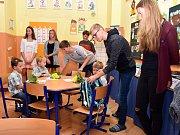 Zahájení školního roku v ZŠ Sepekov.