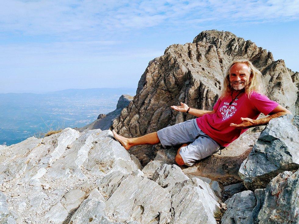 Bosky až na vrchol Olympu v Řecku.