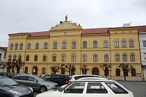 Knihovna a centrum vzdělávání v Písku.