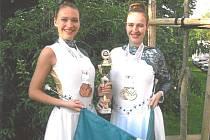 Lenka a Lucie Vavříkovy.