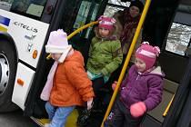 Po Milevsku využívá dopravce nízkopodlažní autobus.