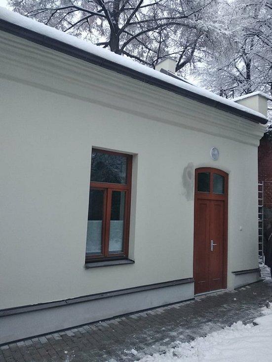 Fotografie z průběhu rekonstrukce zadního traktu Divadla Fráni Šrámka.
