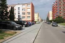 Komenského ulice v Milevsku.
