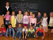 První školky den v 1.B na 1. ZŠ T. G. Masaryka Milevsko.