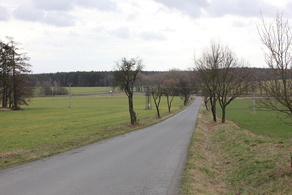 Objízdná trasa Mirovice, Slavkovice, Rakovice.