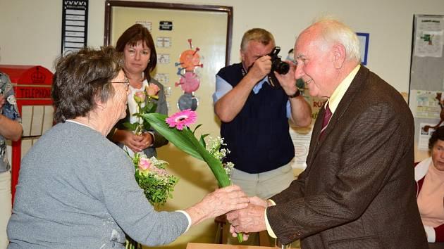 Připomenutí 55. výročí otevření nové školní budovy v Chyškách.