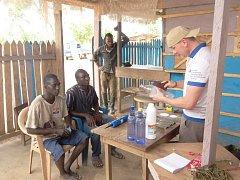 Vojtěch Halaška z Písku strávil měsíc v Ghaně.
