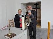 Otevření obnoveného husitského kostela Mistra Jana Husa a Jeronýma Pražského v Mirovicích.