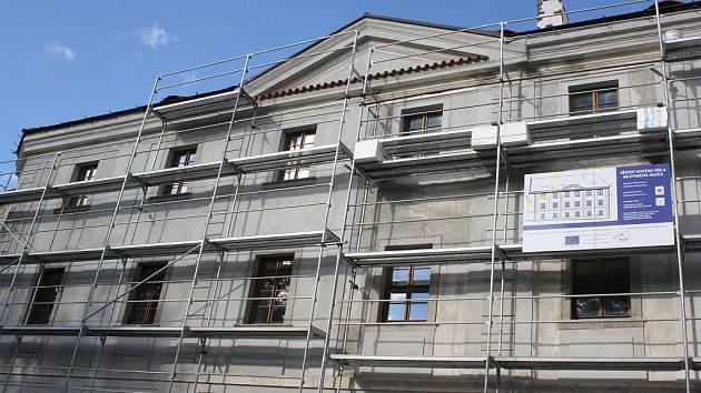 Budoucí sídlo Milevského muzea.