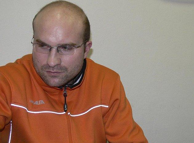 Trenér Jan Salač