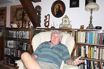 dramatik, scenárista, režisér a herec Vlastimil Venclík má chalupu už od roku 1996 v Milevsku.