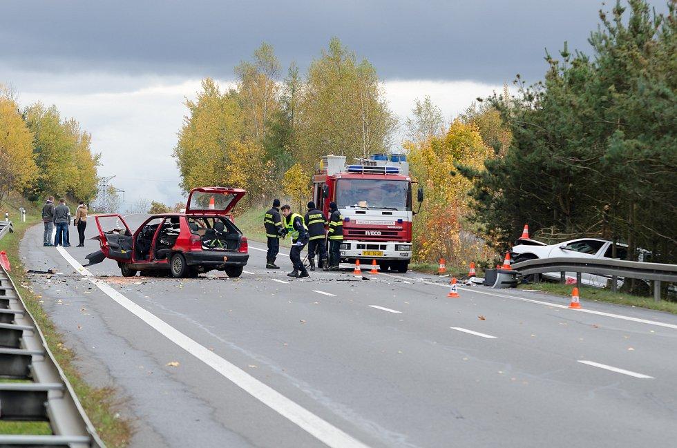 Nehoda u Semic (Silnice I/20)
