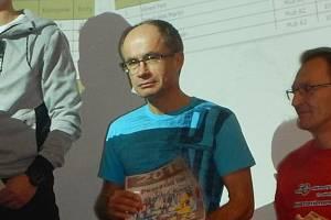 Atlet Pavel Novotný.