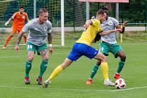 FC Písek fotbal - Olympia Radotín 1:4 (1:2).