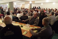 Setkání seniorů v Záhoří.