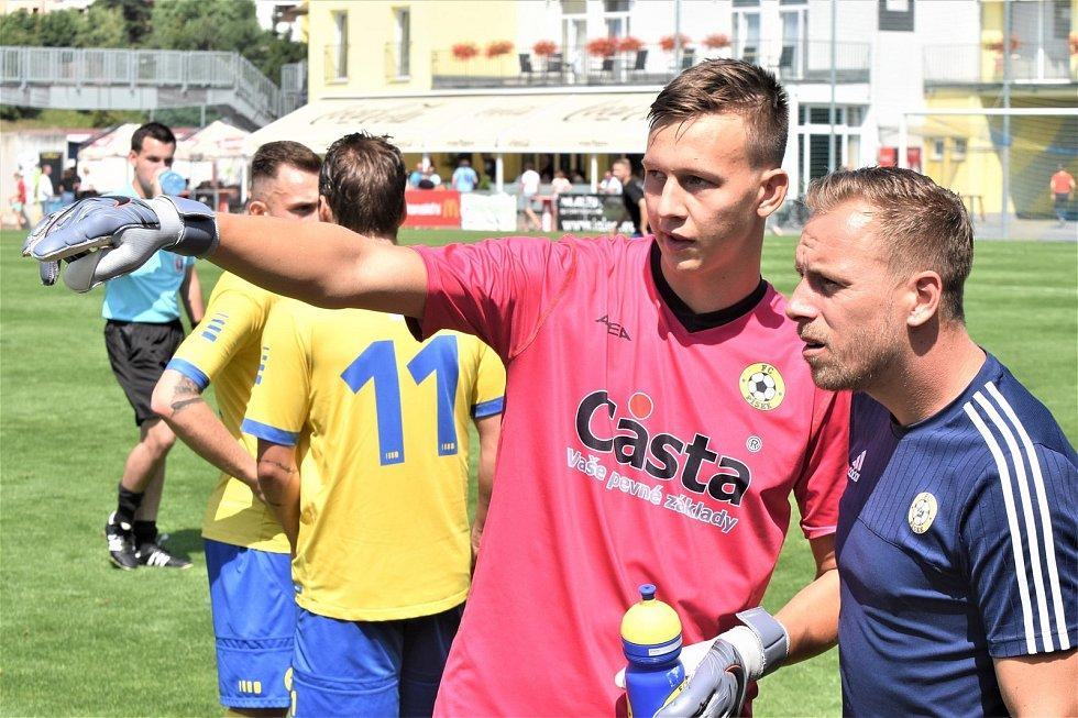 FC Písek – AC Sparta Praha B 0:2 (0:1).
