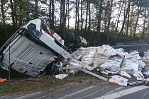 Tragická dopravní nehoda u Mirotic.