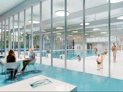Vítězný návrh bazénu z dílny ateliéru Projektil.
