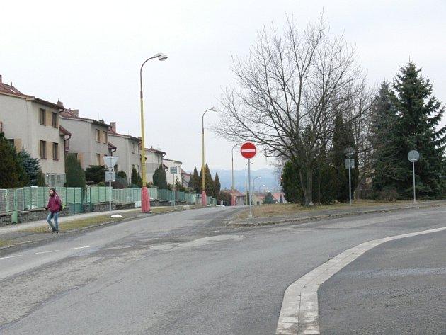 Blechova ulice.