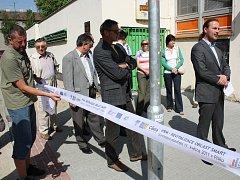 Zástupci města otevřeli revitalizovanou oblast Smart 11. května 2011.