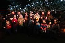 Rozsvícení vánočního stromu v Pechově Lhotě  s doprovodnou akcí.
